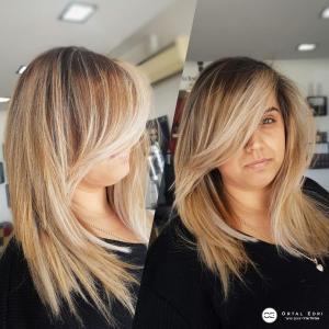 אומברה מקצועי בעפלה אורטל אדרי עיצוב שיער
