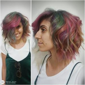בליאז צבעוני אצל אורטל אדרי עיצוב שיער