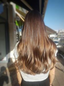 צבע שיער טבעי בעפולה אורטל אדרי עיצוב שיער