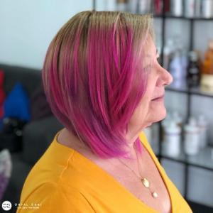 צבעי שיער פנטסטיים לשיער קצר בעפולה מספרת אורטל אדרי