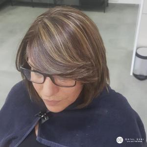 גוונים שיער קצר בעפולה מספרת אורטל אדרי
