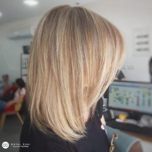 צבע שיער לשיער קצר בעפולה מספרת אורטל אדרי