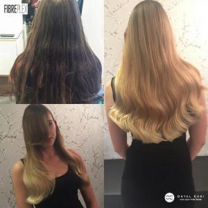 צבע שיער בלונד בעפולה אורטל אדרי עיצוב שיער