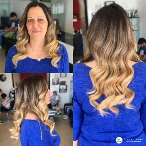 אומברה מקצועי לשיער ארוך אורטל אדרי עיצוב שיער
