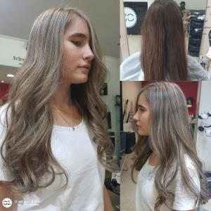 צבע שיער סילבר אורטל אדרי עיצוב שיער