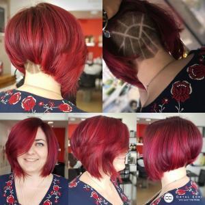 תספורת נשים וצבע מיוחדת בעפולה אורטל אדרי יעיצוב שיער