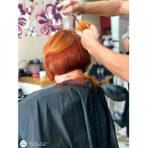 תספורת נשים בעמקים אורטל אדרי עיצוב שיער
