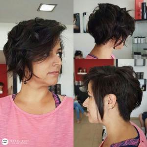 תספורת נשים קצרה מקצועית בעמקים אורטל אדרי עיצוב שיער