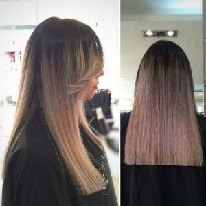 החלקת שיער במספרת אורטל אדרי