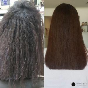 החלקת שיער מקצועית בעפולה אורטל אדרי עיצוב שיער