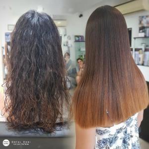 החלקת שיער יפנית לשיער מקורזל - המרכז להחלקות שיער העפולה