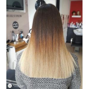 החלקת שיער לשיער צבוע בעמקים
